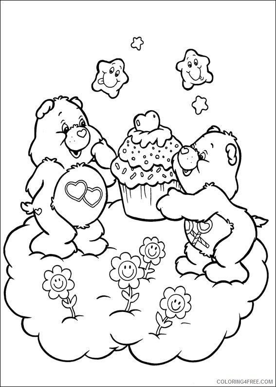 care bears coloring pages to print Coloring4free