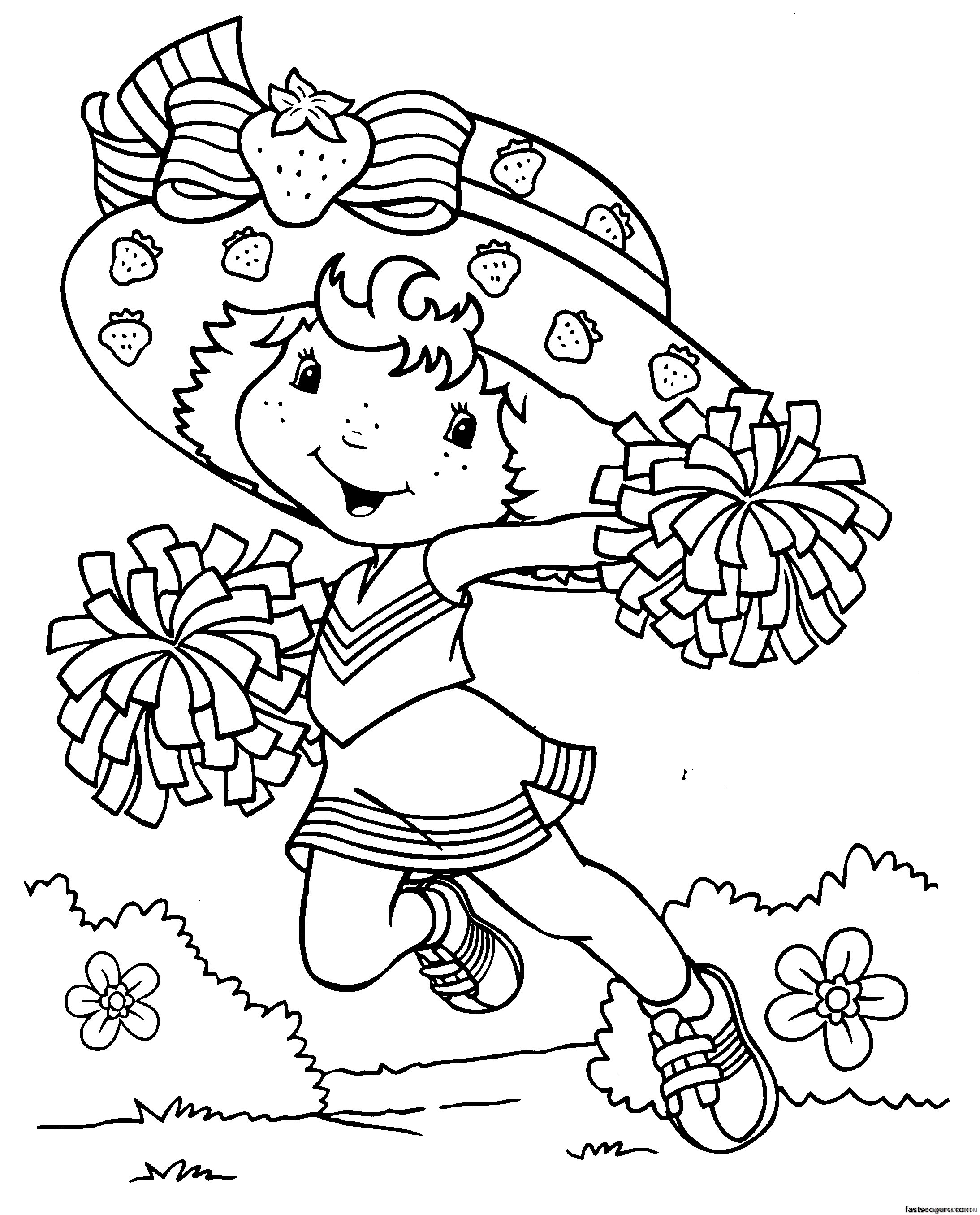 cartoon coloring pages for girls Coloring4free