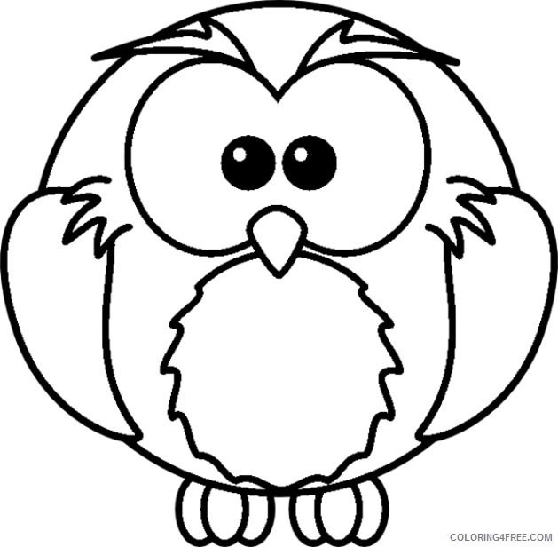 cartoon coloring pages for preschooler Coloring4free