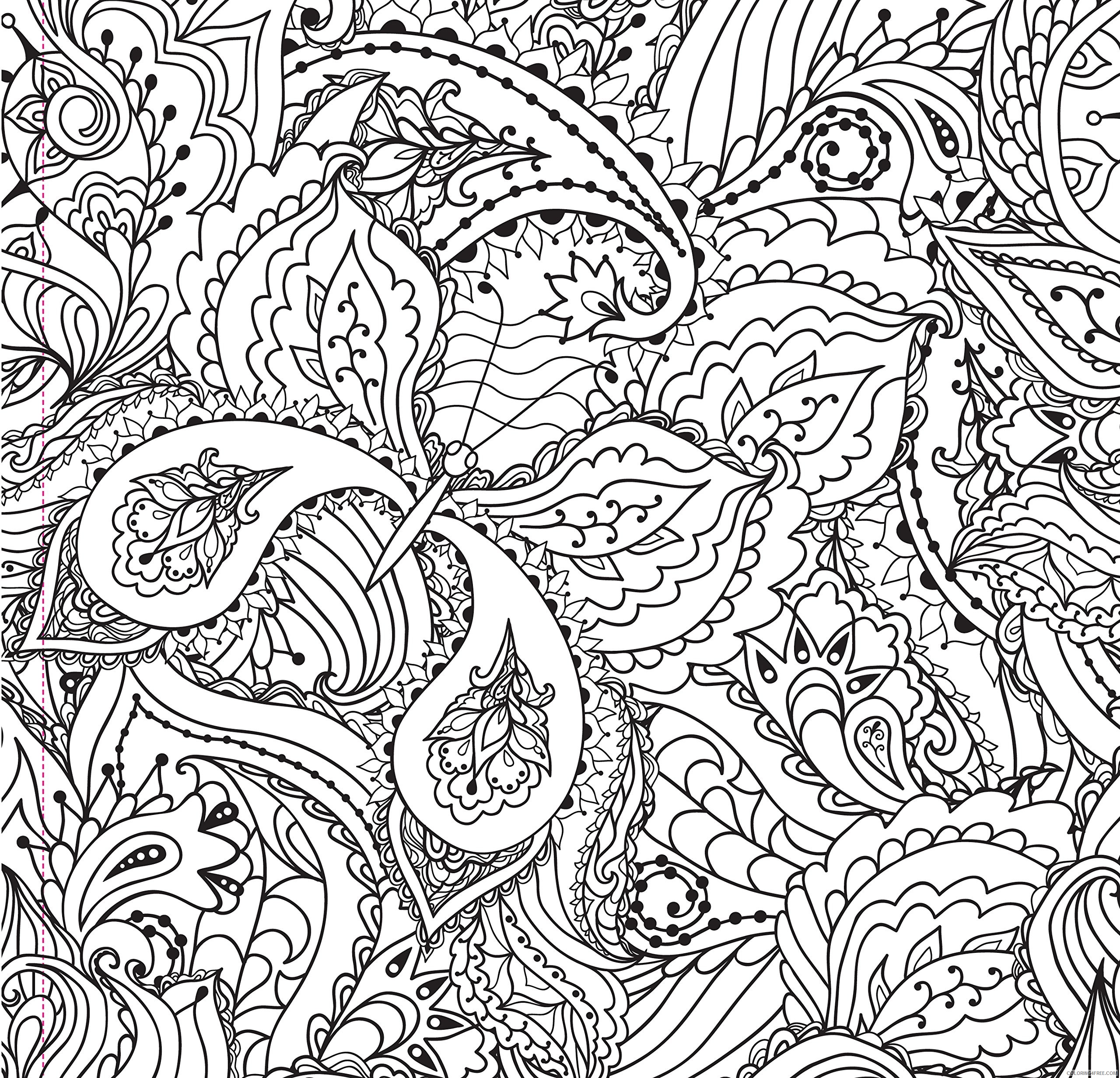 complex coloring pages abstract butterfly for adults Coloring4free