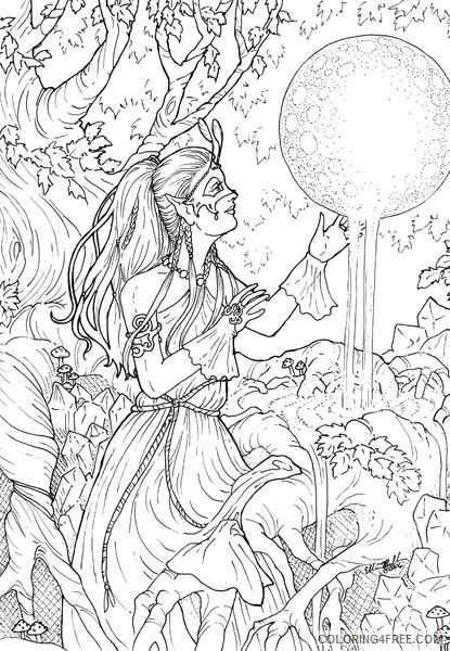 complex coloring pages for teenagers Coloring4free