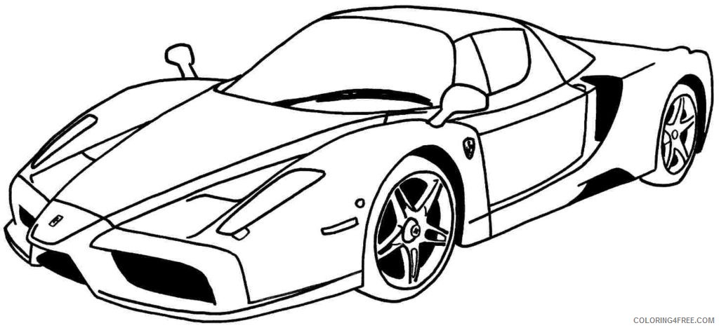 cool car coloring pages for teens Coloring4free