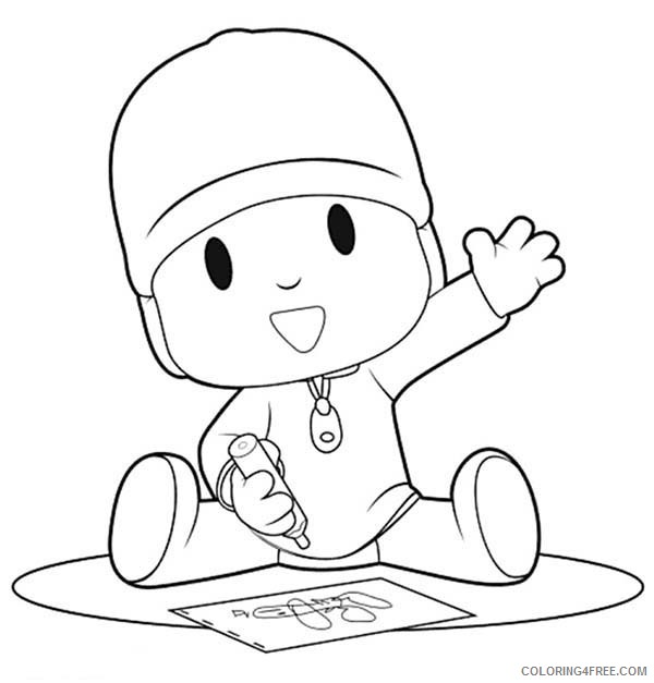 crayon coloring pages with kids Coloring4free