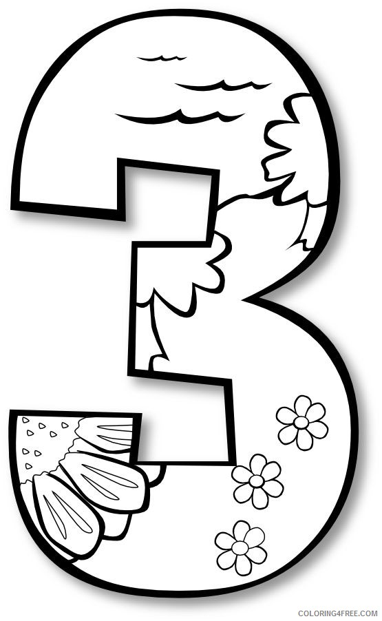 creation coloring pages day 3 Coloring4free