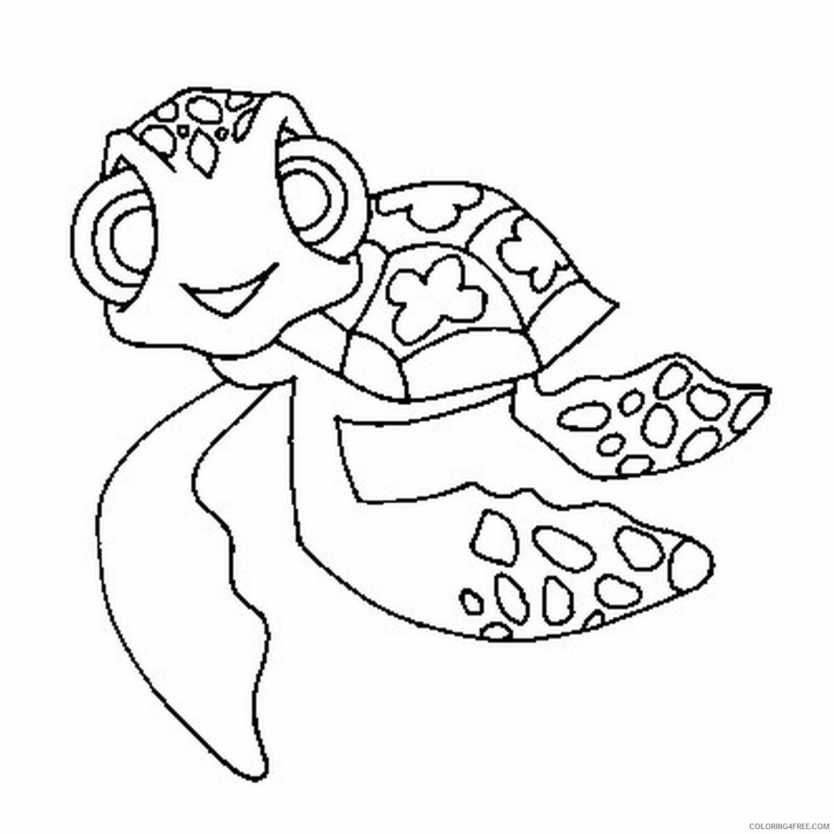 cute baby sea turtle coloring pages Coloring4free