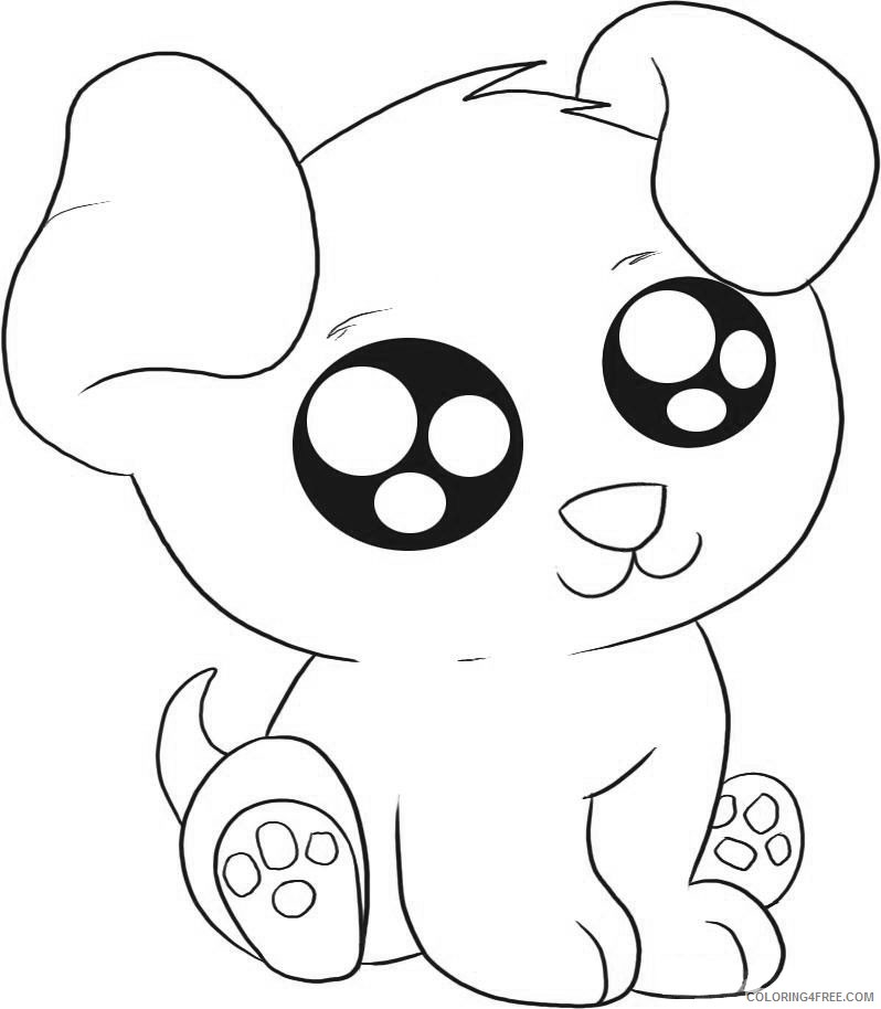 cute puppies coloring pages Coloring4free