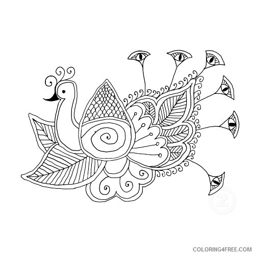 design coloring pages animals Coloring4free