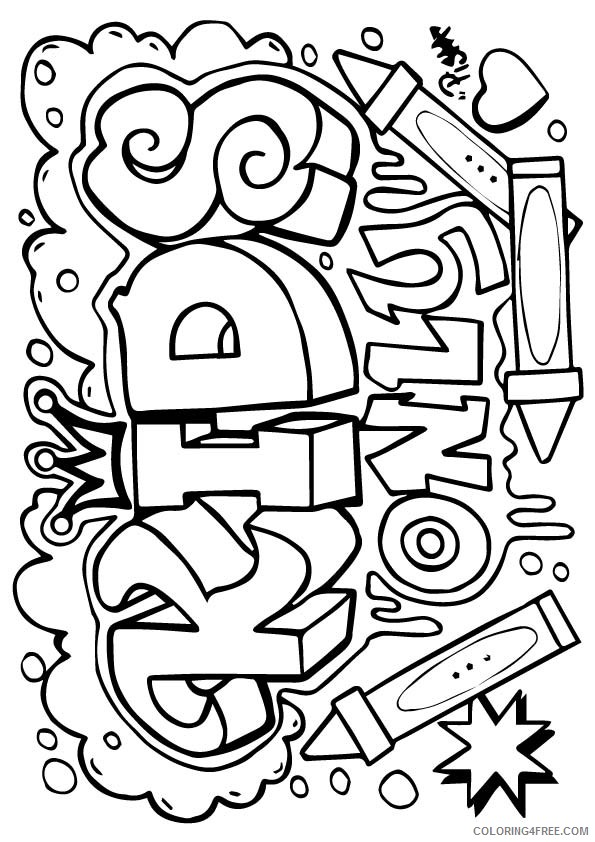 design coloring pages for kids Coloring4free