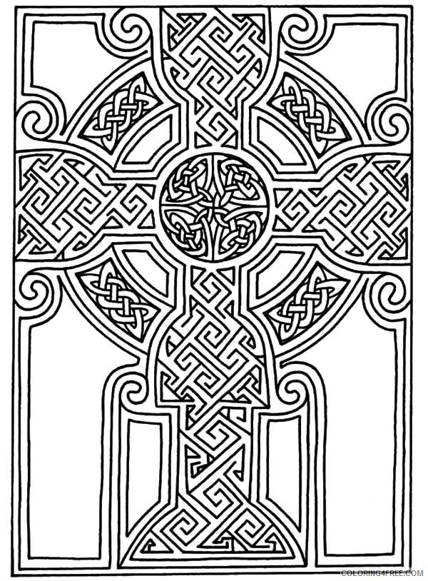 design coloring pages free to print Coloring4free