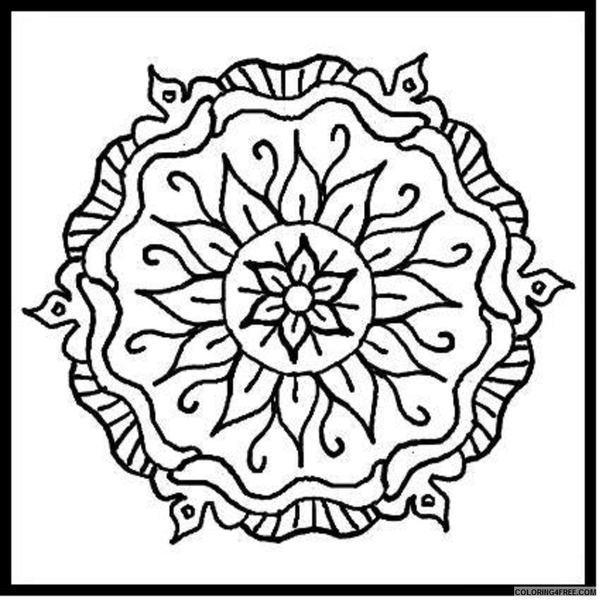 design coloring pages printable Coloring4free