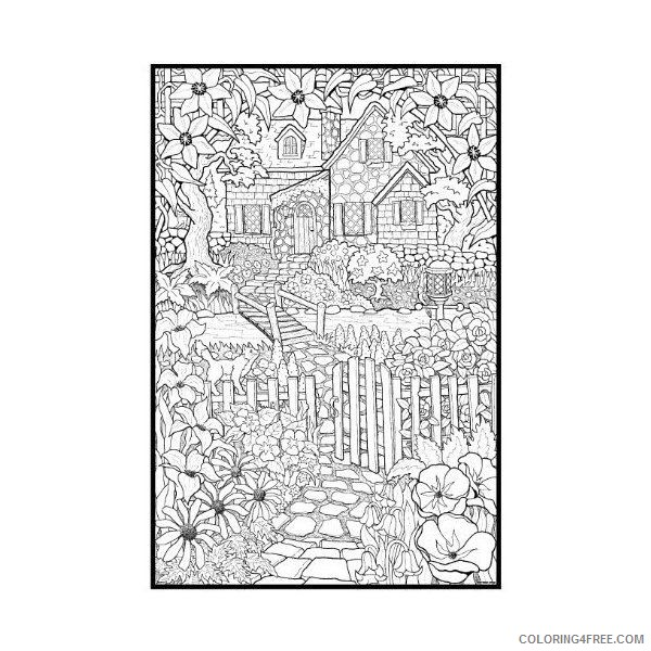 detailed coloring pages for adults printable Coloring4free