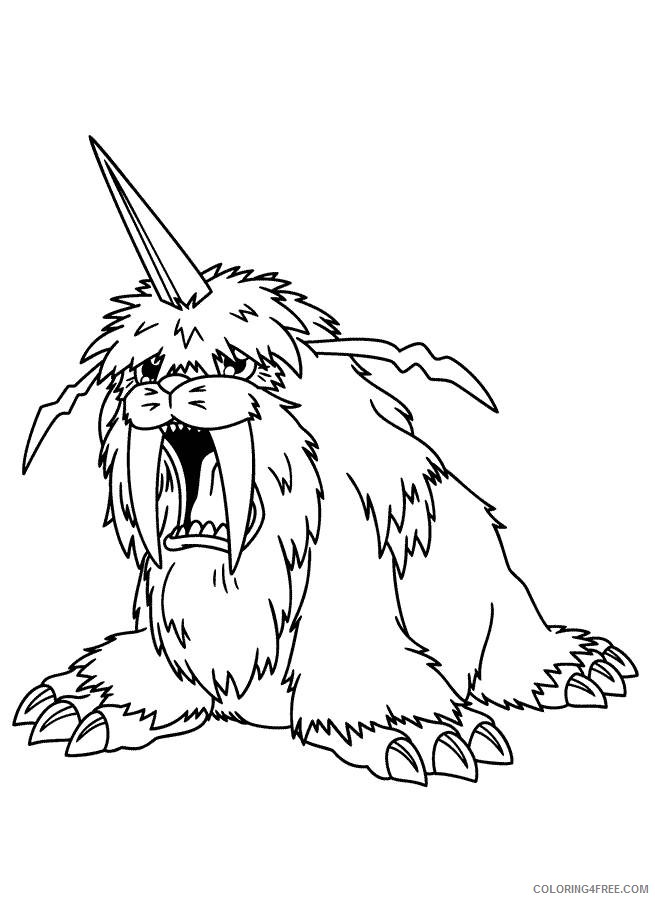 digimon coloring pages ikkakumon Coloring4free