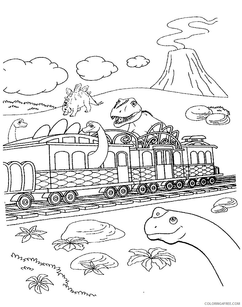 dinosaur train coloring pages free Coloring4free