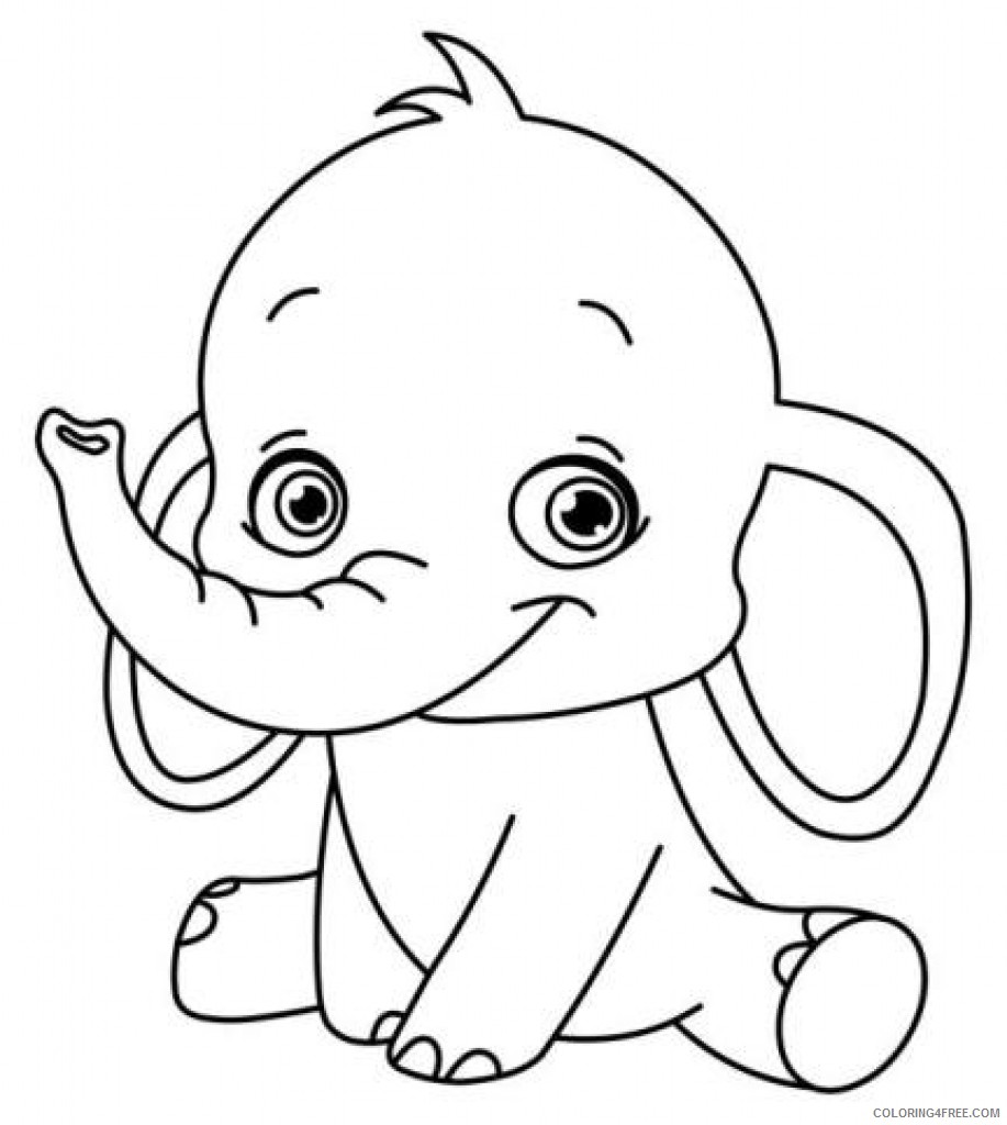 disney characters coloring pages for preschooler Coloring4free