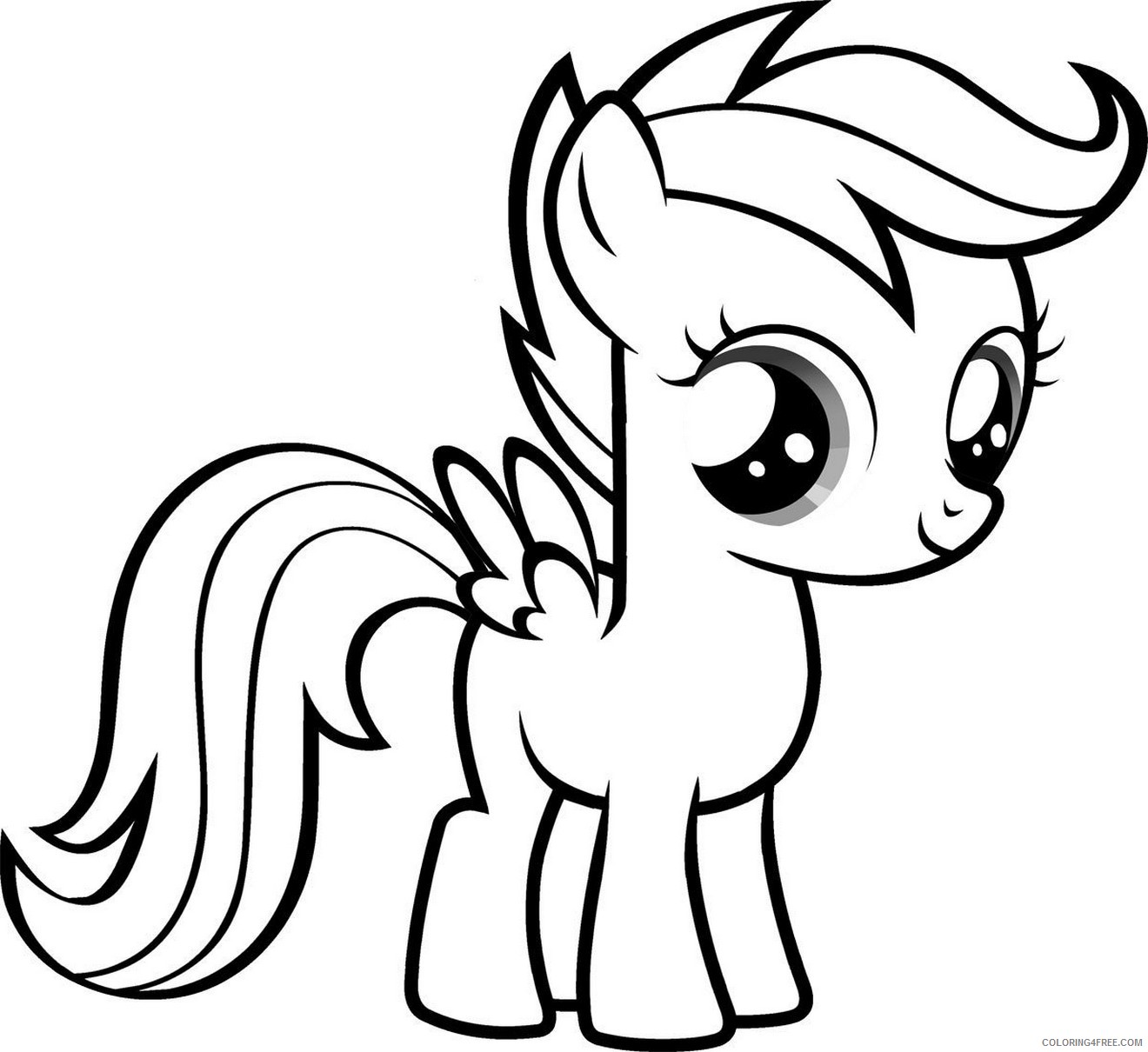 disney coloring pages my little pony Coloring4free