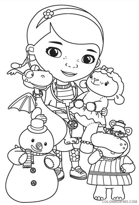 disney junior coloring pages doc mcstuffins Coloring4free