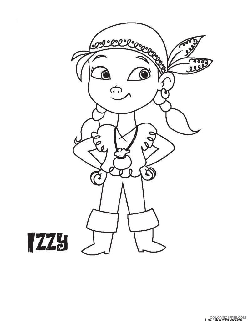 disney junior coloring pages izzy Coloring4free