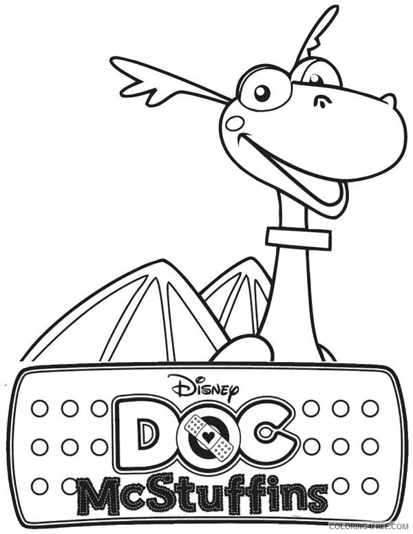 doc mcstuffins coloring pages stuffy Coloring4free