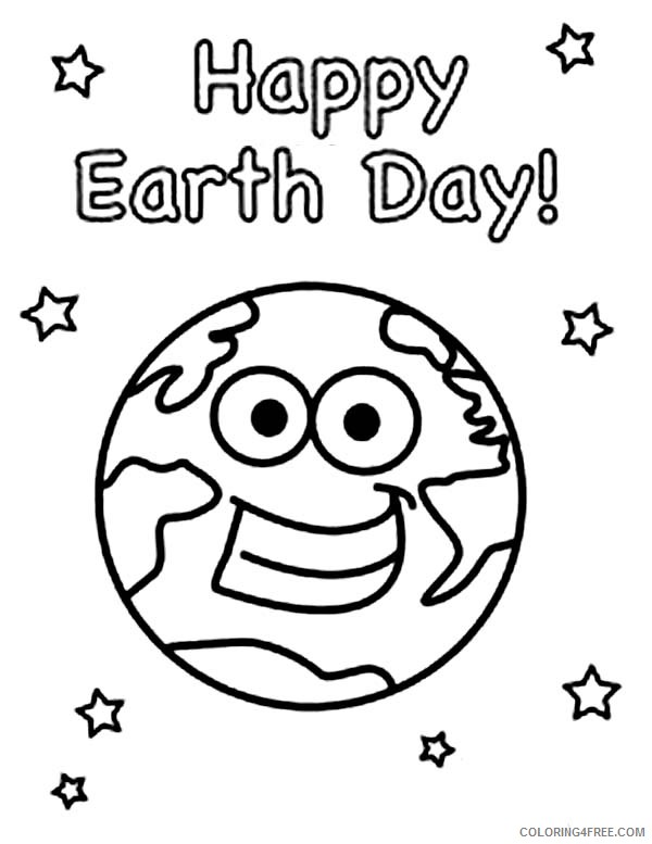 earth coloring pages happy earth day Coloring4free
