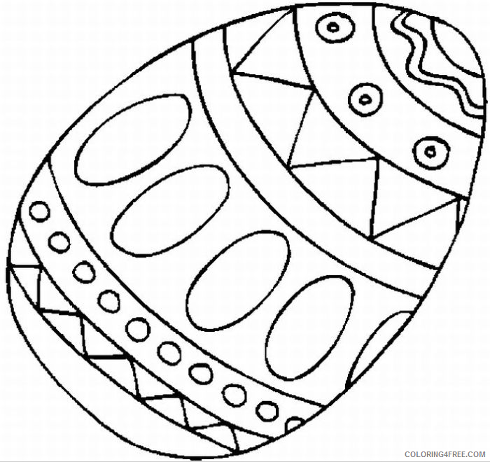 easter egg coloring pages Coloring4free
