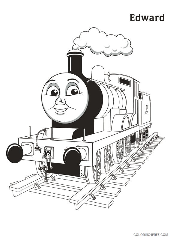 edward thomas and friends coloring pages Coloring4free