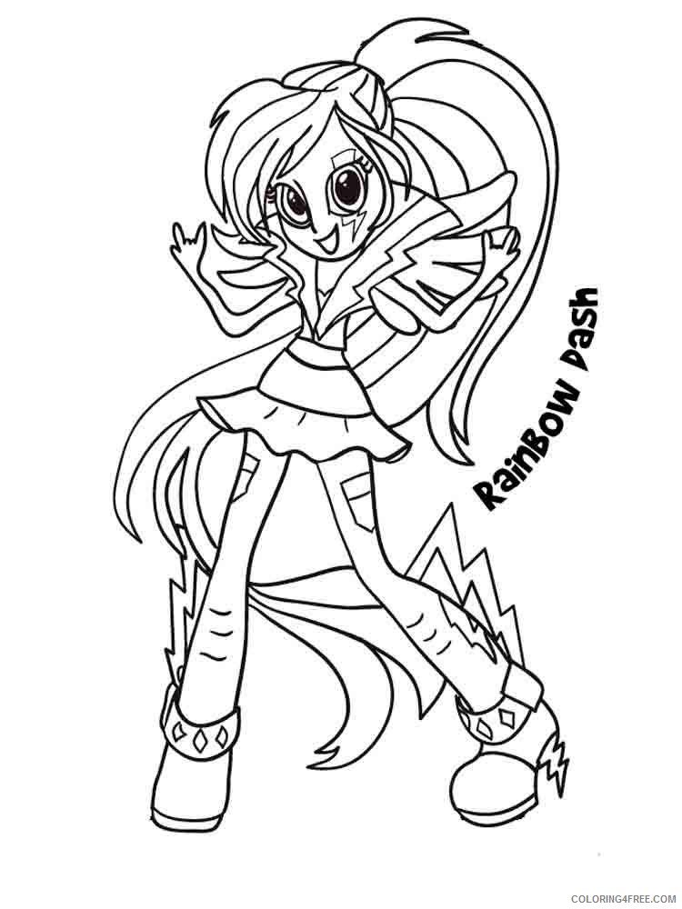 equestria girls coloring pages for girls Coloring4free