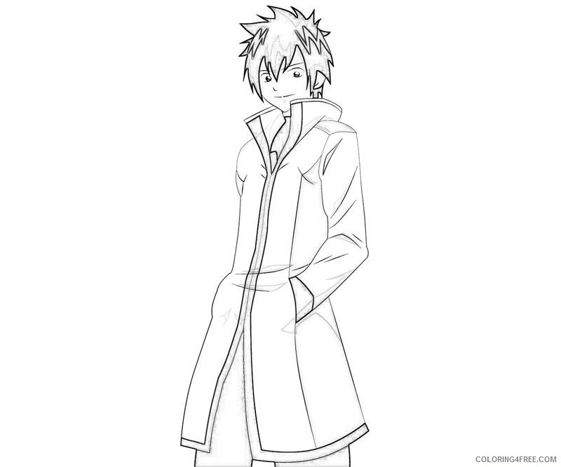 fairy tail coloring pages gray Coloring4free