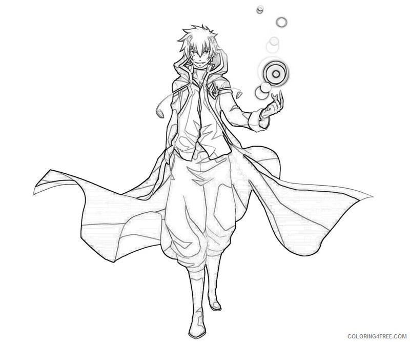 fairy tail coloring pages jellal Coloring4free
