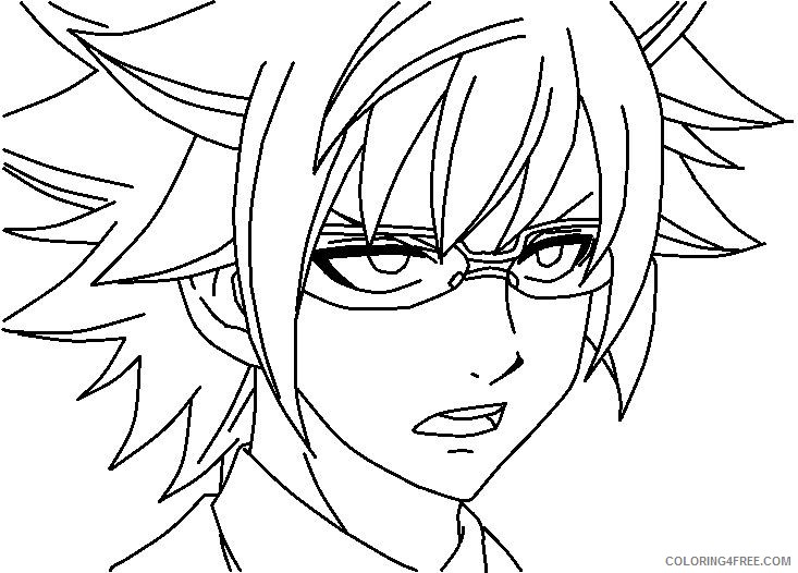 fairy tail coloring pages leo Coloring4free