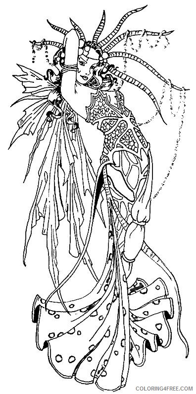 fantasy mermaid coloring pages Coloring4free
