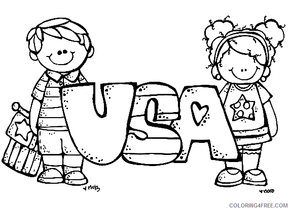 free 4th of july coloring pages for kids Coloring4free