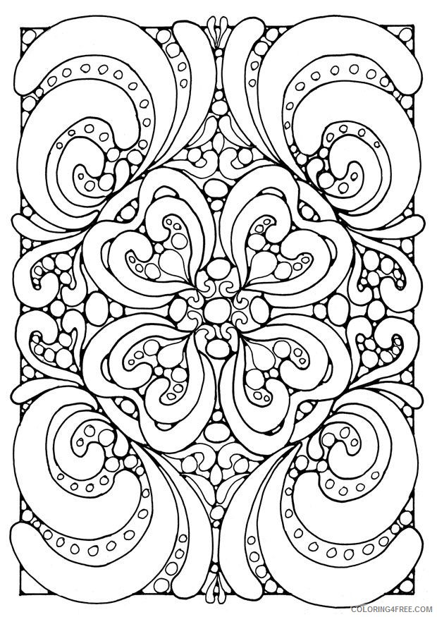 free coloring pages for teens Coloring4free