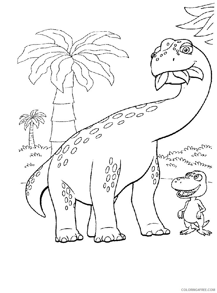 free dinosaur train coloring pages to print Coloring4free