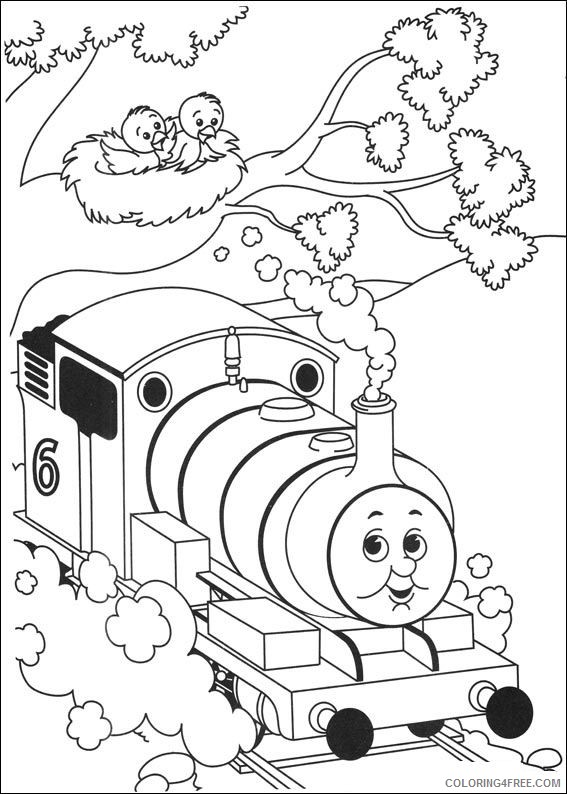free thomas and friends coloring pages for kids Coloring4free