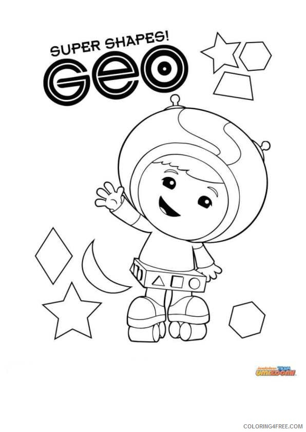 geo team umizoomi coloring pages Coloring4free