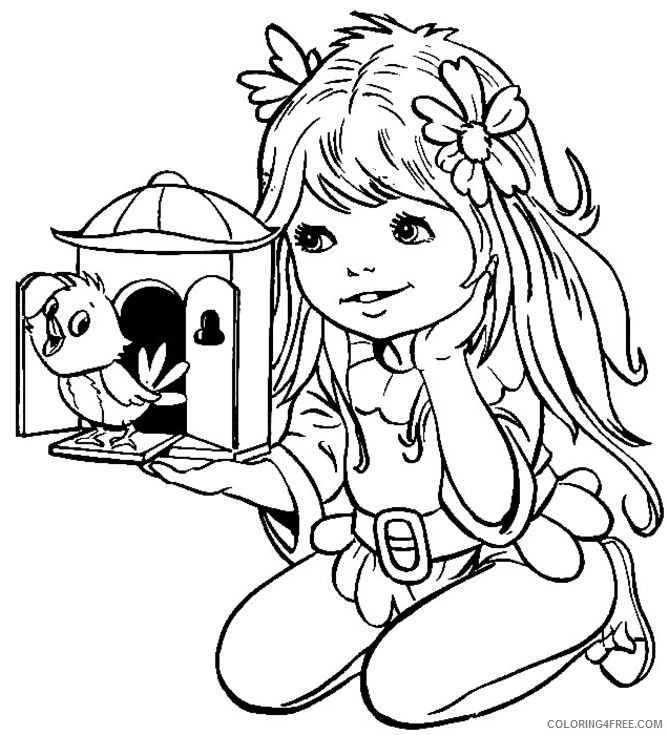 girls coloring pages free to print Coloring4free