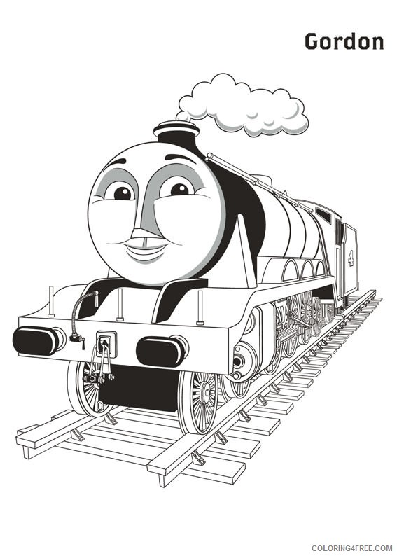 gordon thomas and friends coloring pages Coloring4free