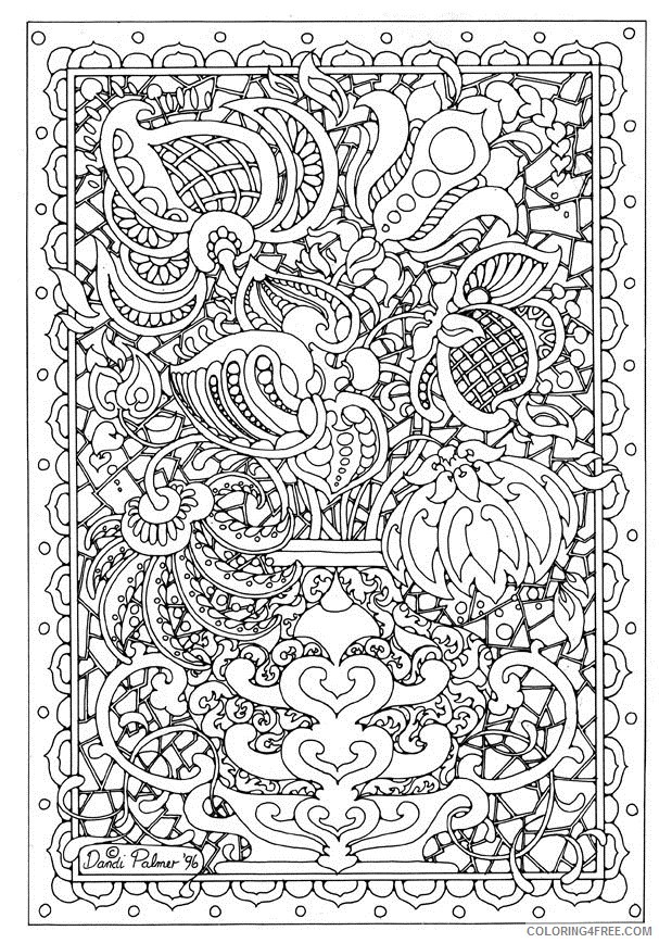 hard coloring pages free to print Coloring4free