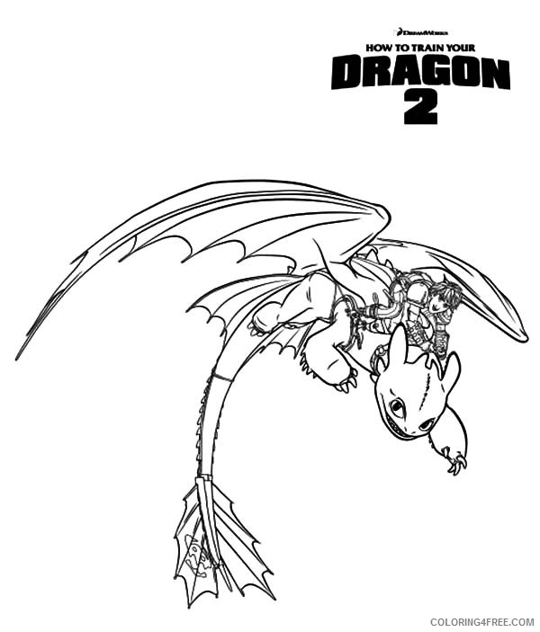 how to train your dragon 2 coloring pages printable Coloring4free