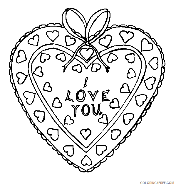 i love you coloring pages valentines day Coloring4free