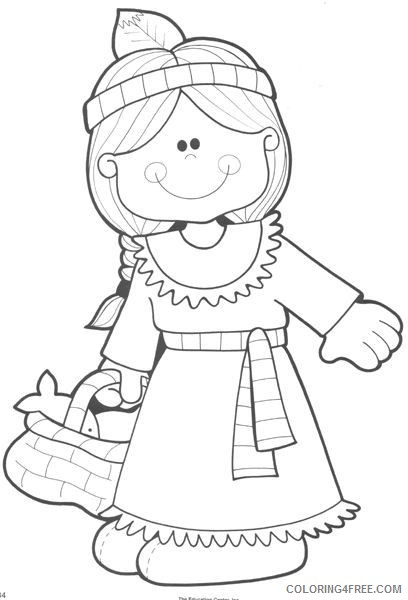 indian girl coloring pages Coloring4free