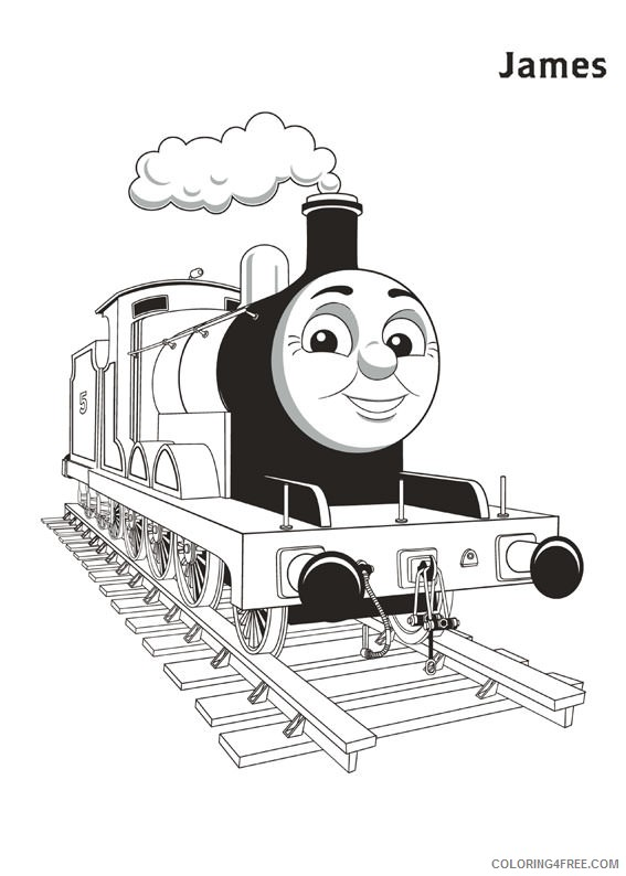 james thomas and friends coloring pages Coloring4free
