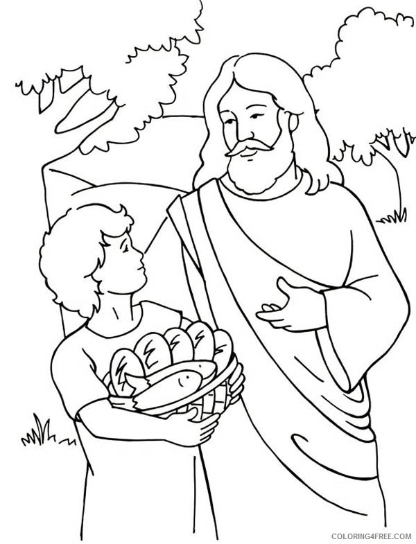 jesus coloring pages for kids printable Coloring4free