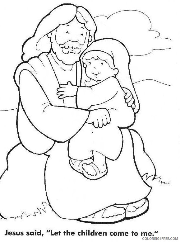 jesus coloring pages quotes Coloring4free