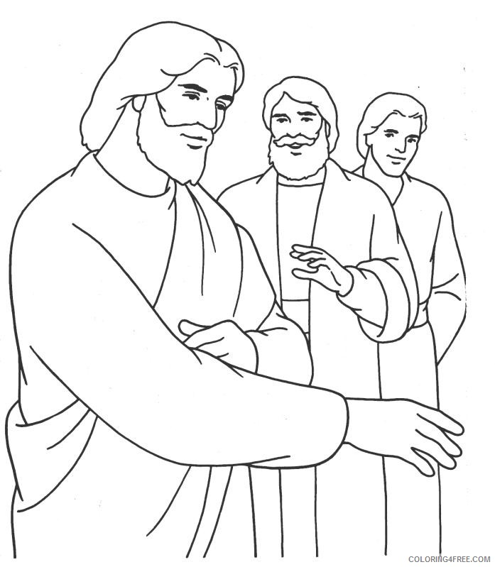 jesus coloring pages the savior Coloring4free