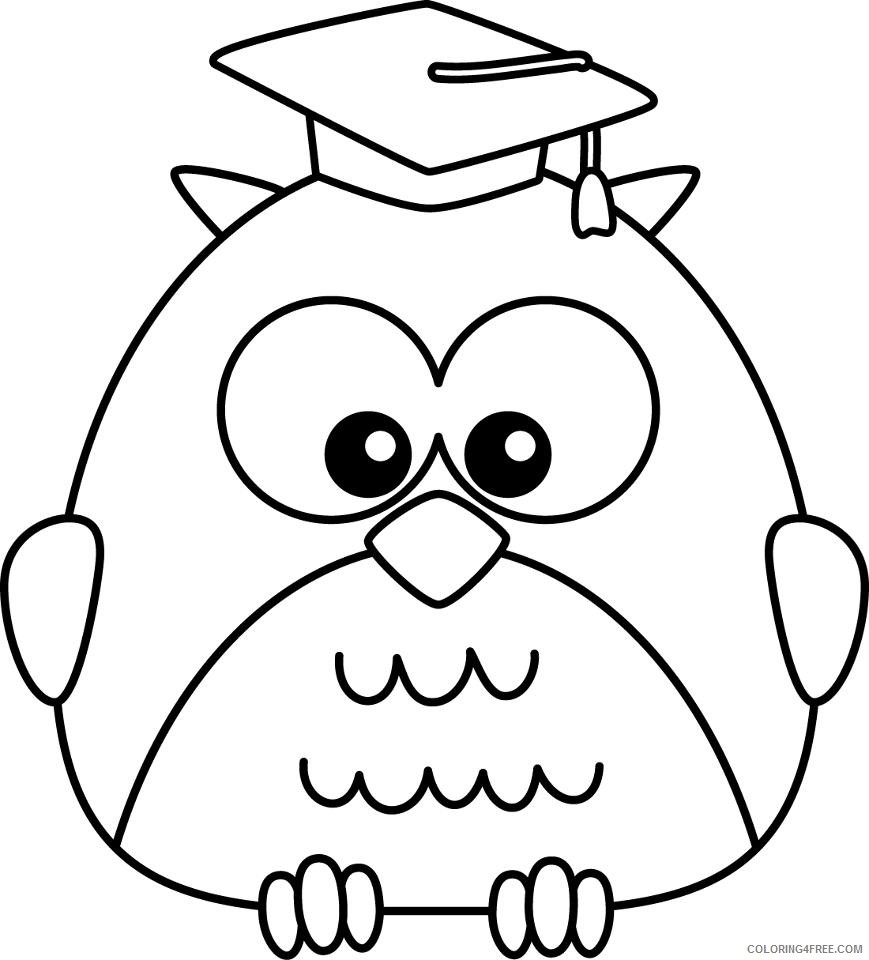 little owl coloring pages printable Coloring4free