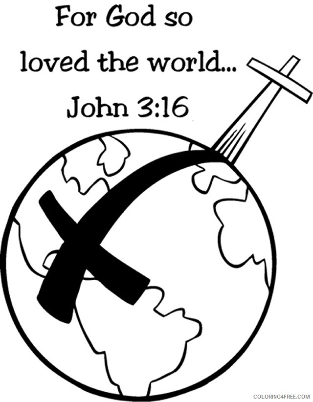 love coloring pages love is god Coloring4free