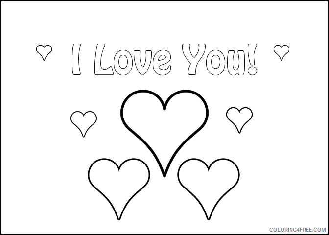 love coloring pages love letter Coloring4free