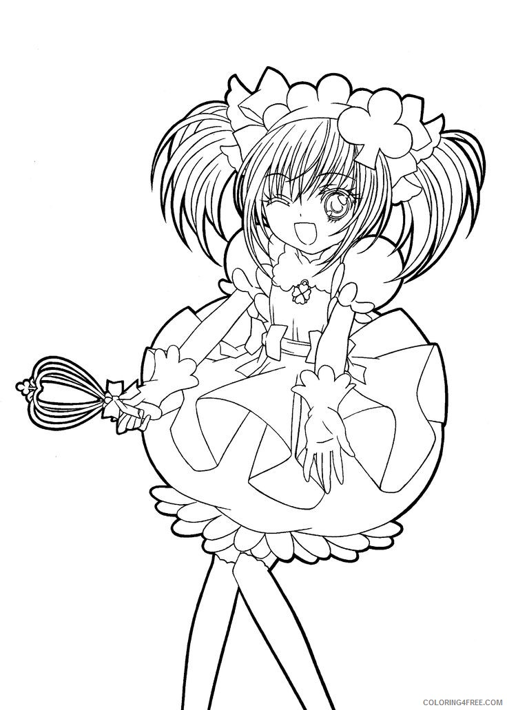 manga coloring pages for girls Coloring4free