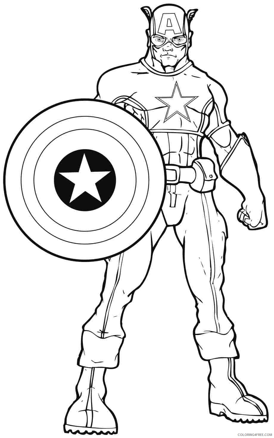 marvel superhero coloring pages Coloring4free